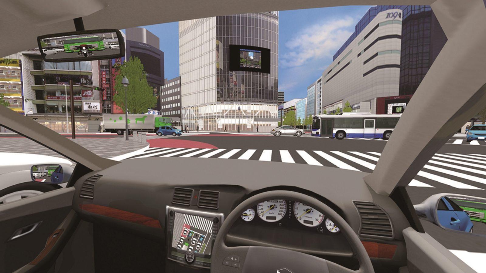 vr driving simulator