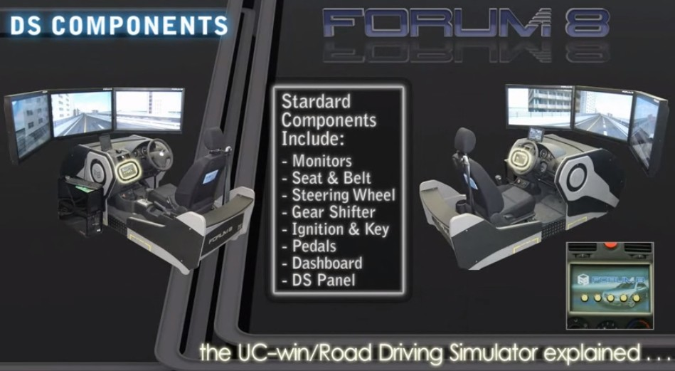 virtual reality driving simulator