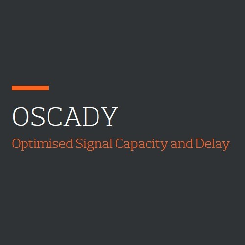 OSCADY (Optimised Signal Capacity and Delay) logo